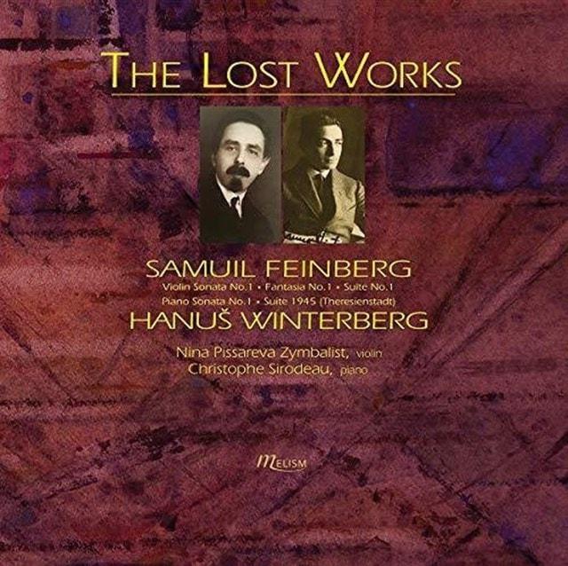 Samuil Feinberg/Hanus Winterberg: The Lost Works - 1