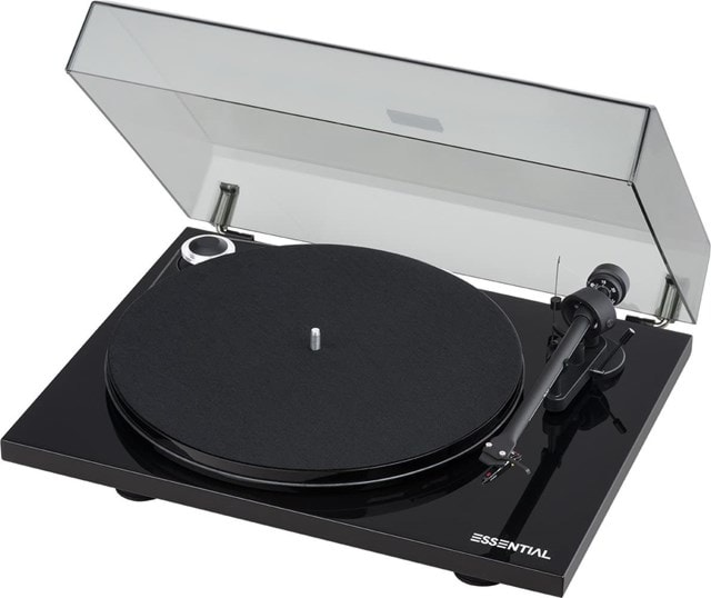 Pro-Ject Essential III Phono Black Turntable - 2