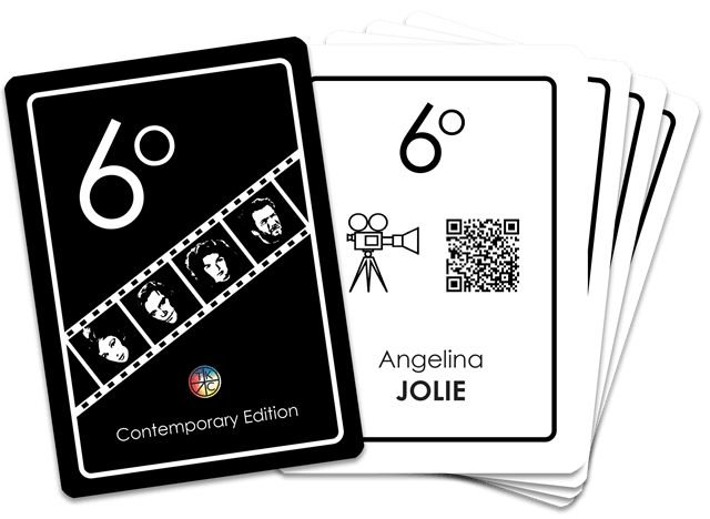 6 Degrees: Movie Connection Card Game - 3