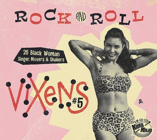 Rock and Roll Vixens: 25 Black Woman Singer, Movers & Shakers - Volume 5 - 1