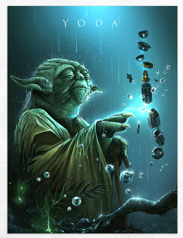 Yoda Limited Edition Fine Art Print - 1