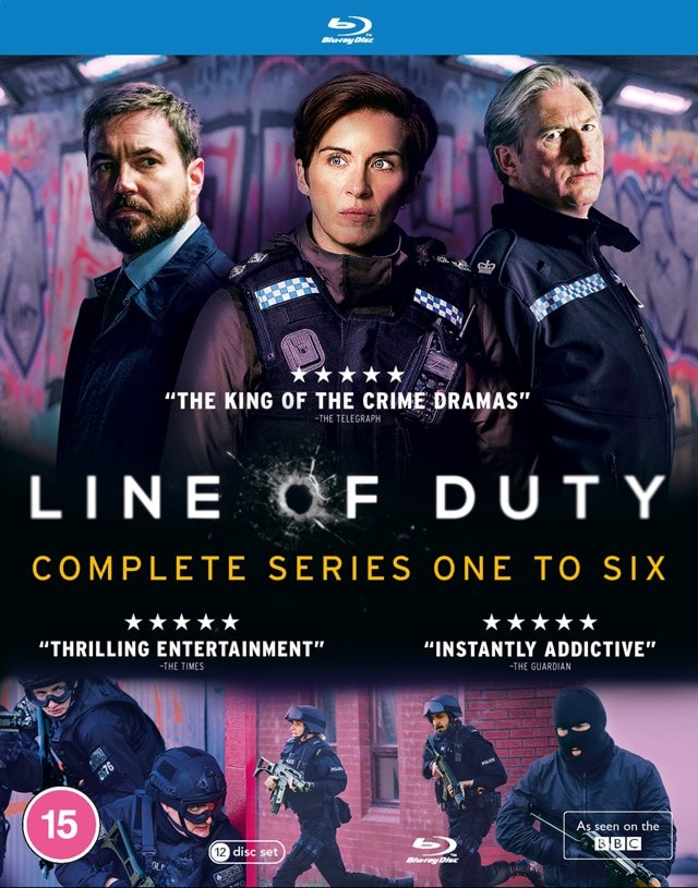 Line of Duty: Complete Series One to Six - 1
