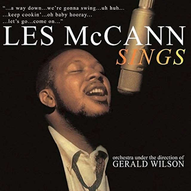 Les McCann Sings: Orchestra Under the Direction of Gerald Wilson - 1
