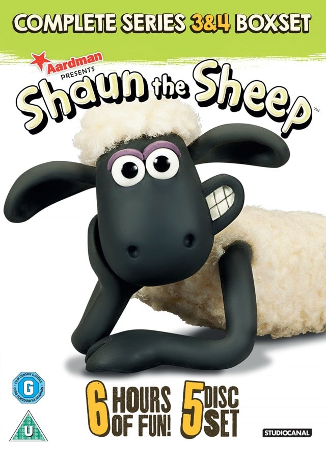 Shaun the Sheep: Complete Series 3 and 4 - 1