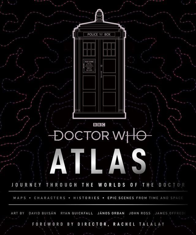 Doctor Who Atlas (Hardback) - 1