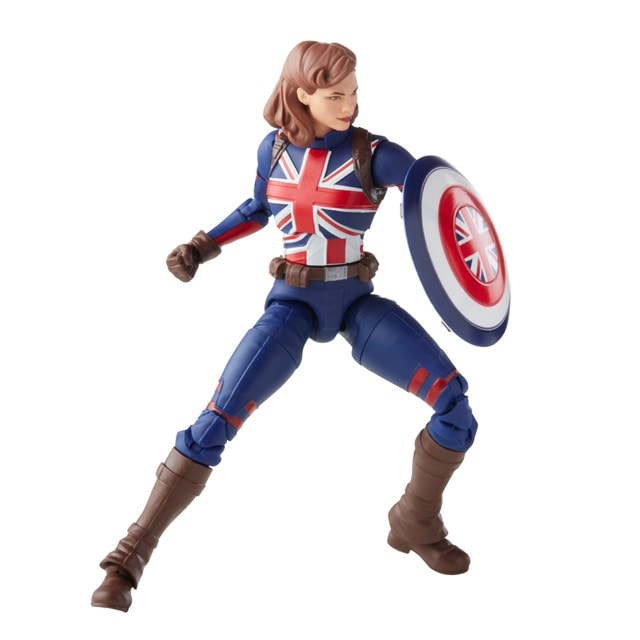 Marvel's Captain Carter: Hasbro Marvel Legends Series Action Figure - 9