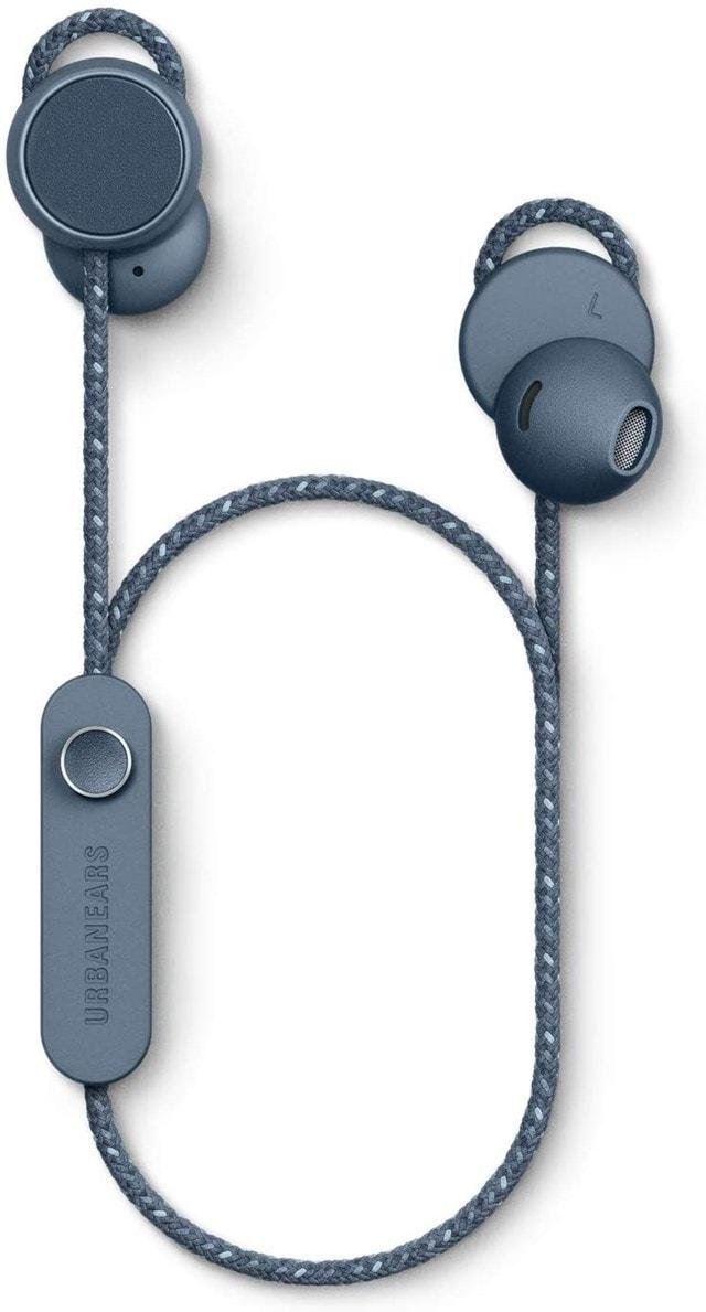 Urbanears Jakan Slate Blue Bluetooth Earphones - 1