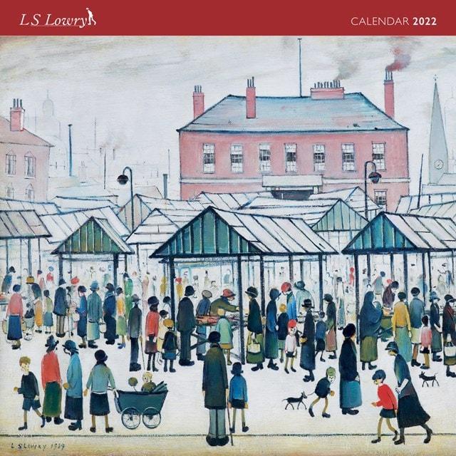 L.S. Lowry Square 2022 Calendar - 1