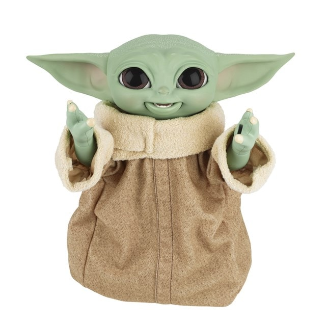 Star Wars Galactic Snackin' Grogu Integrated Play Soft Toy - 5
