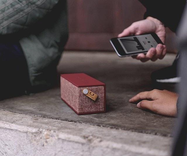 Fresh N Rebel Rockbox Brick Ruby Fabric Edition Bluetooth Speaker - 3