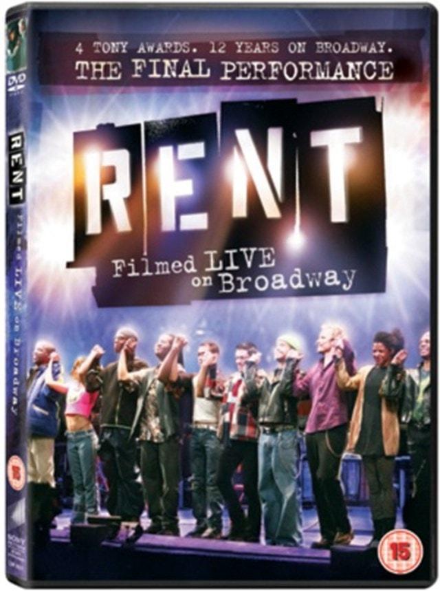Rent: The Final Performance - Filmed Live On Broadway - 1