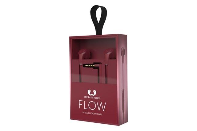 Fresh N Rebel Flow Ruby Red Earphones - 2