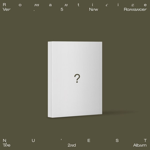 The 2nd Album 'Romanticize' - New Romancer - 1