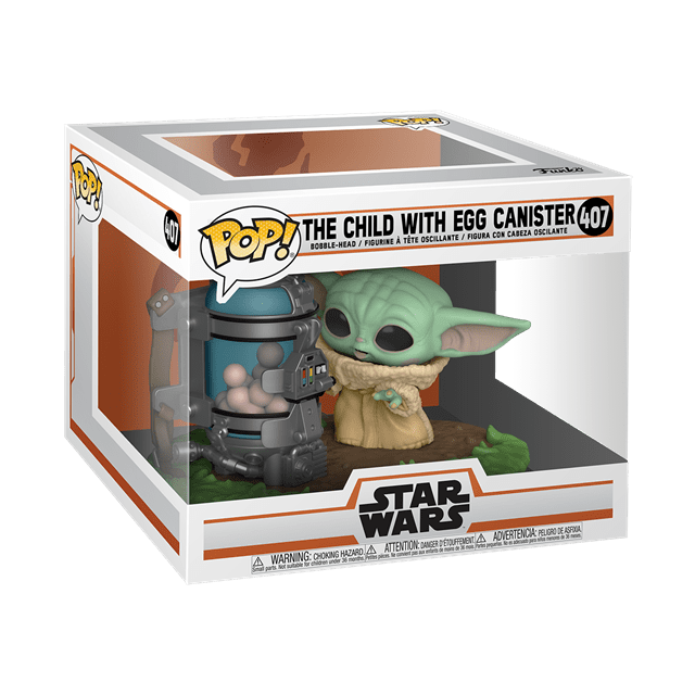 The Child With Egg Canister (407) The Mandalorian: Star Wars Pop Vinyl - 2