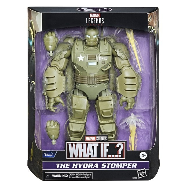Hydra Stomper What If Hasbro Marvel Legends Series Action Figure - 13