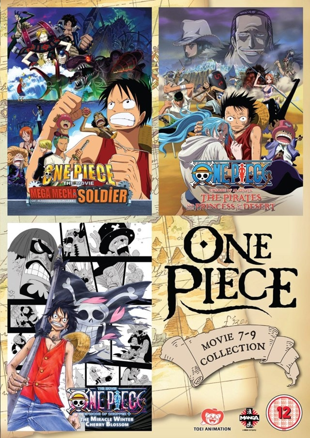 One Piece: Movie Collection 3 - 1
