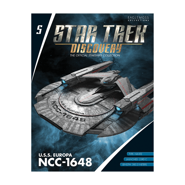 Star Trek Discovery: U.S.S. Europa NCC-1648 Starship Hero Collector - 3