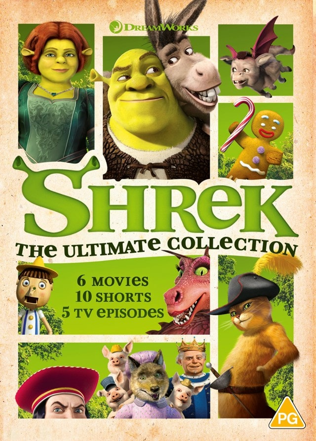 Shrek: The Ultimate Collection - 1