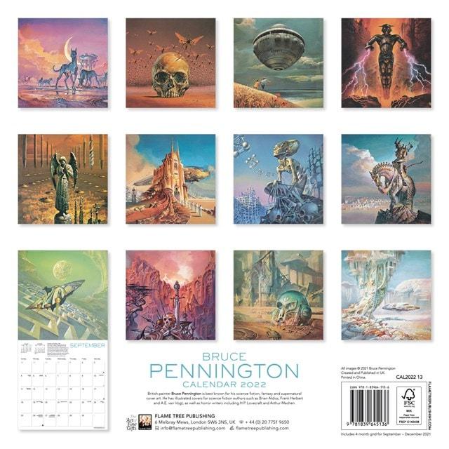 Bruce Pennington Square 2022 Calendar - 3