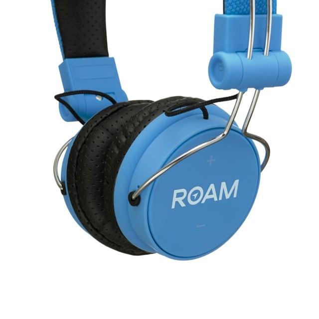 Roam Journey Blue Bluetooth Headphones - 2