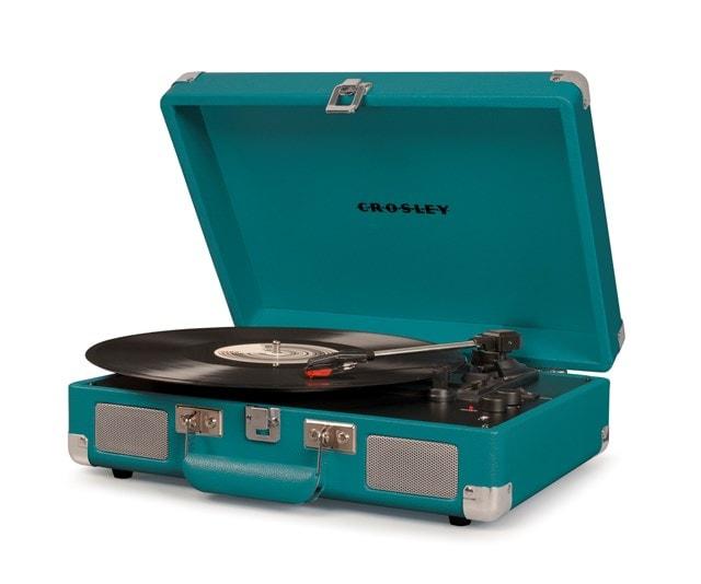 Crosley Cruiser Deluxe Teal Turntable - 1