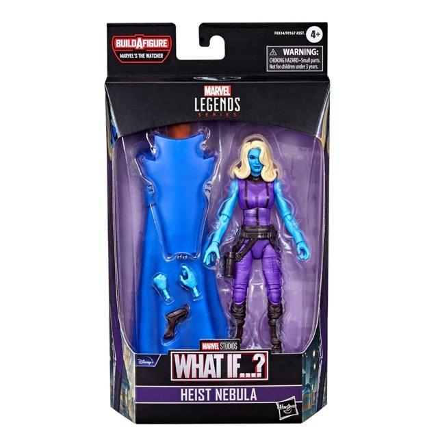 Heist Nebula: Hasbro Marvel Legends Series Action Figure - 6