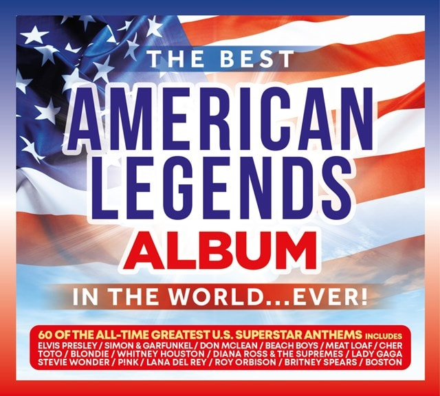 The Best American Legends Album in the World... Ever! - 1