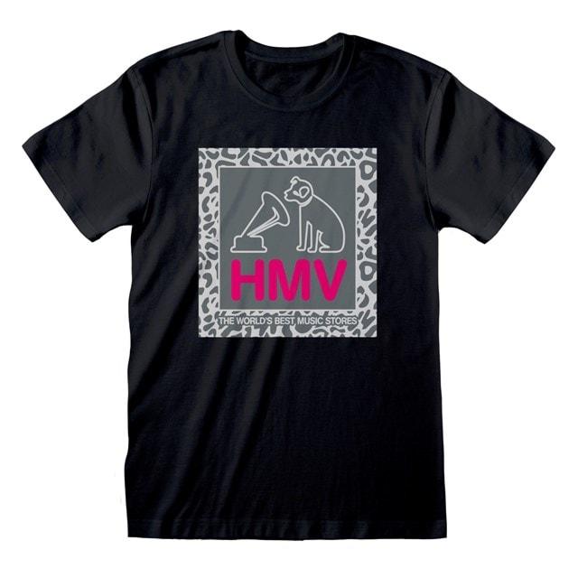 HMV 100th Anniversary Black T-shirt (Small) - 1