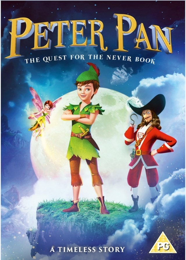 Peter Pan: The Quest for the Never Book - 1