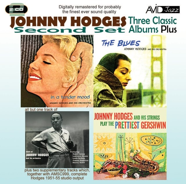 Three Classic Albums Plus: The Blues/In a Tender Mood/The Prettiest Gershwin/... - 1