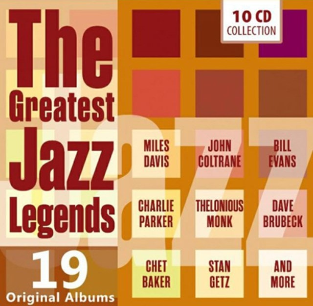 The Greatest Jazz Legends - 1