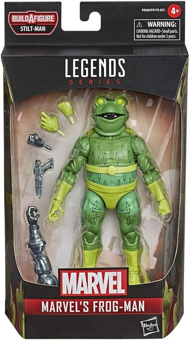 Frog-Man: Hasbro Marvel Legends Action Figure - 5