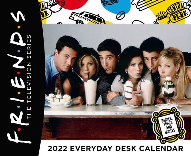 Friends Desk Block 2022 Calendar - 1
