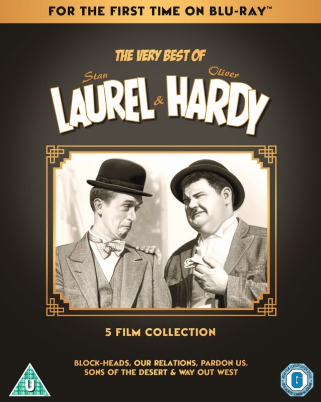 The Very Best of Laurel & Hardy: 5 Film Collection - 1