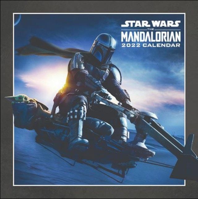 The Mandalorian: Star Wars: (hmv Exclusive) Square 2022 Calendar - 1