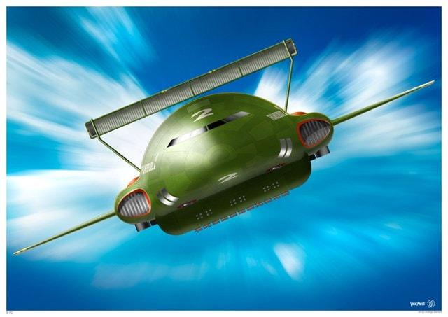 Thunderbird 2: In Action (Front) Art Print - 1