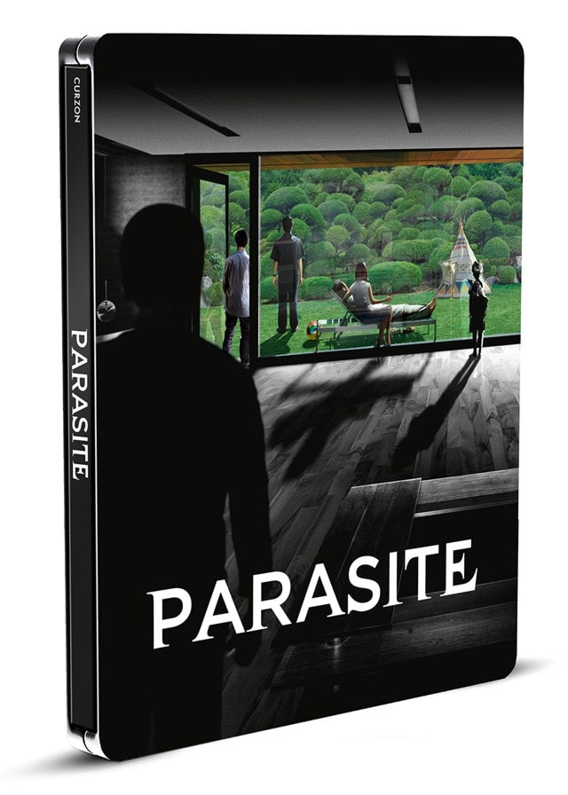 Parasite: Black and White Edition Limited Edition 4K Ultra HD Steelbook - 1