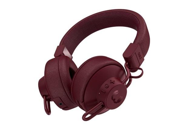 Fresh N Rebel Cult Ruby Red Bluetooth Headphones - 1