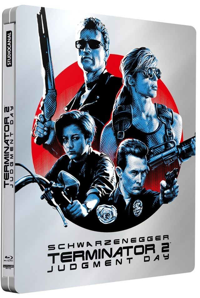 Terminator 2 - Judgment Day 30th Anniversary Limited Edition 4K Ultra HD Steelbook - 2