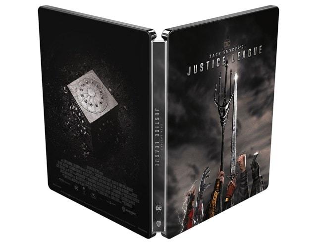 Zack Snyder's Justice League (hmv Exclusive) Limited Edition Steelbook - 2