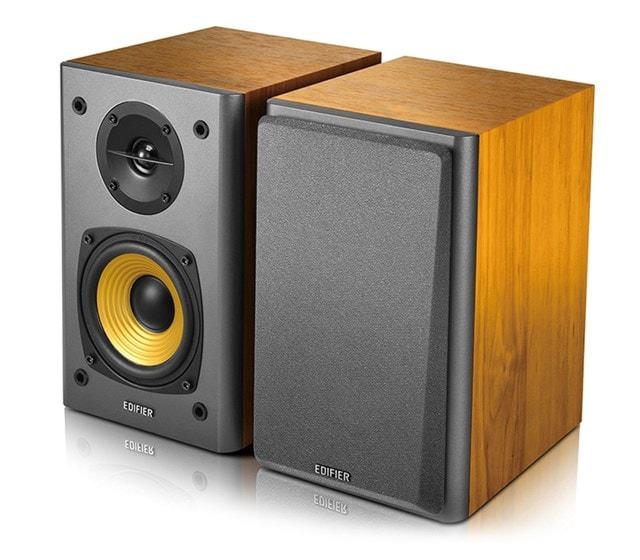 Edifier R1000T4 2.0 Wood Active Bookshelf Speakers - 1