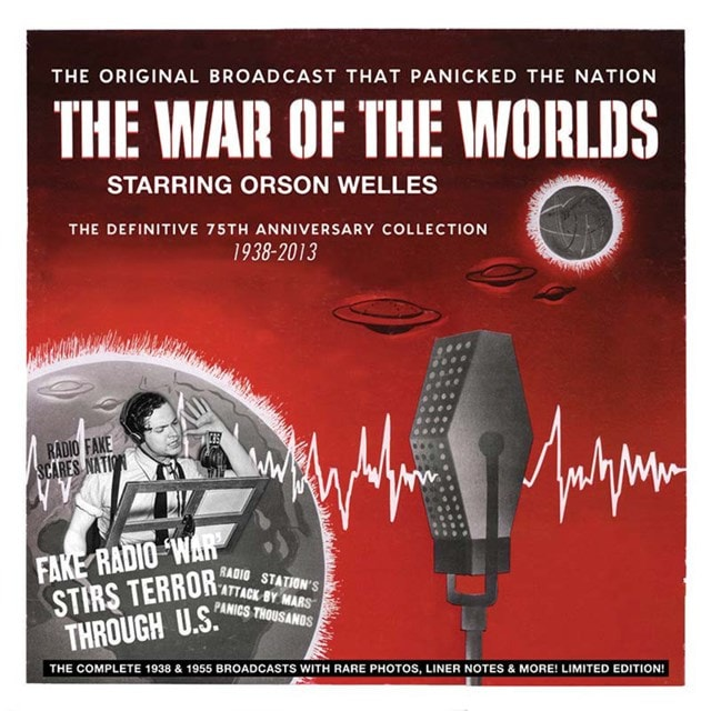 The War of the Worlds: The Definitive 80th Anniversary Collection 1938-2013 - 1
