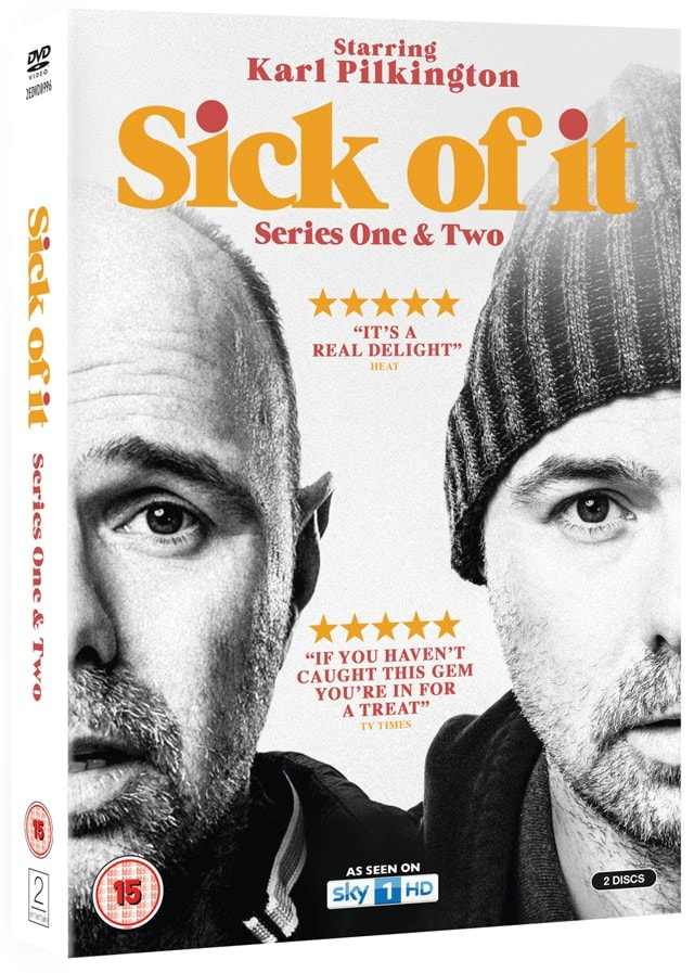Sick of It: Series One & Two - 2