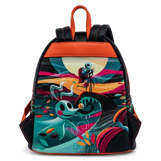 Nightmare Before Christmas: Simply Meant To Be Mini Loungefly Backpack - 4