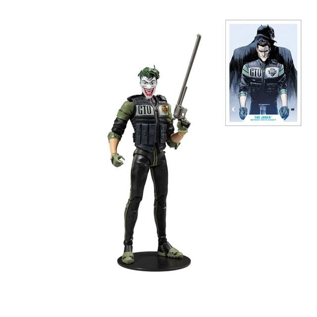 White Knight: Joker (DC Multiverse) Action Figure - 2