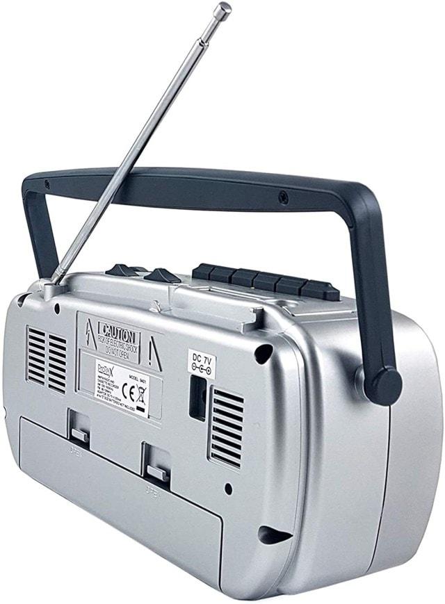 GPO Retro Cassette Player w/ AM/FM Radio - 4