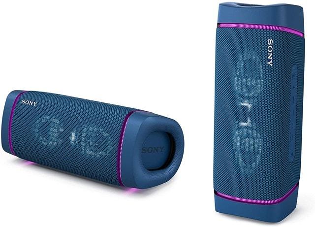 Sony SRSXB33 Blue Bluetooth Speaker - 2