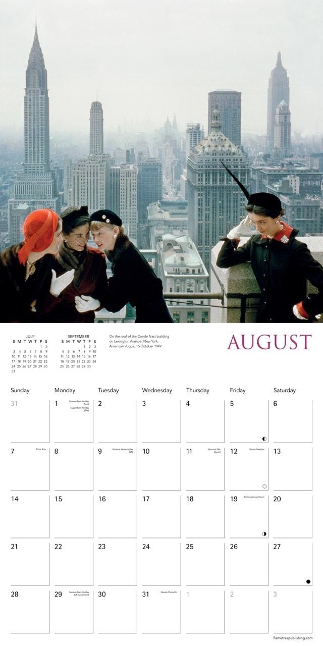 Norman Parkinson Square 2022 Calendar - 2