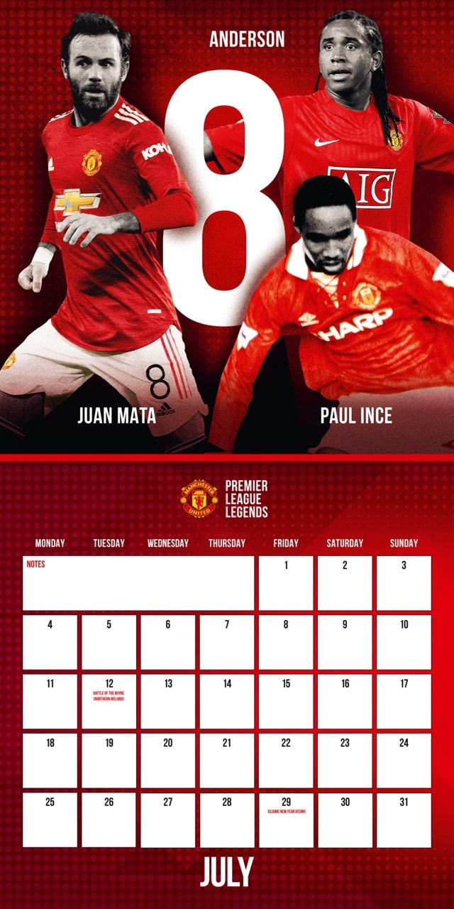 Manchester United FC 2022 Calendar & Diary Gift Box - 3