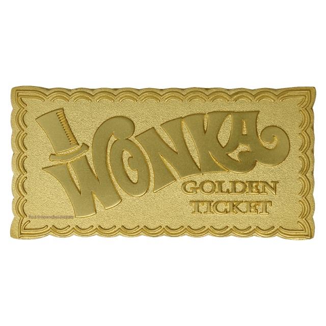 Willy Wonka: Golden Ticket Limited Edition Collectible - 2